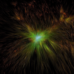 Visualization of Dark Matter
